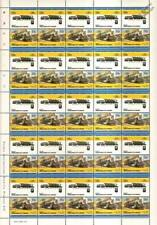 1909 Great Northern (GN) Class H-4 4-6-2 Train 50-Stamp Sheet / LOCO 100 LOTW