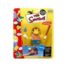 The Simpsons Nelson Muntz World of Springfield Action Figure Playmates Toys NIB
