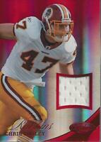 2012 Certified Mirror Red Materials #100 Chris Cooley Jersey /199 - NM-MT