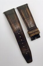 Authentic IWC 22mm x 18mm Santoni Brown Alligator Watch Strap Band OEM A54579