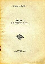 Carlo Bornate = GIULIO II E IL VESCOVATO DI NOLI
