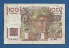 FRANCIA // FRANCE -- 100 FRANCS ( 3.12.1953 ) -- BC // F -- PICK 128e .