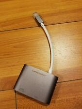 CableCreation Mini DisplayPort to HDMI+VGA Adapter CD0168