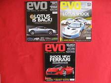 3 x EVO Magazines.