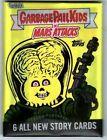 2021 Mars Attacks Uprising Garbage Pail Kids GPK Sealed Collector 6 Card Set