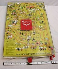 IDEAL'S MYSTERY TUNNEL CROSS COUNTRY BAGATELLE PINBALL GAME WORKS