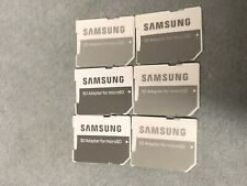 Lot Of 6 New Samsung MicroSd Card Adapters