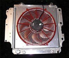 JEEP TJ YJ WRANGLER FF DYNAMICS EXTREME ELECTRIC COOLING FAN KIT & RADIATOR!!