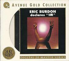 Burdon, Eric & War declares WAR 24 Karat Gold CD Avenue mit Pappumhüllung OOP