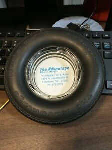 Vintage BF Goodrich Tires Advertising Ashtray 4ply