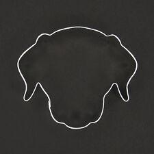 "DOG FACE 3.5"" METAL COOKIE CUTTER FONDANT NEW STENCIL DOGGY BIRTHDAY DALMATIAN"