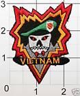 MAC V SOG Green Beret Vietnam War Patch