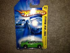 HOT WHEELS 2007 DODGE CHALLENGER CONCEPT 1:64 GREEN New