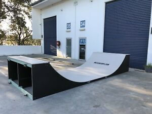Half pipe Skateboard Ramp Modular 3.5 Ft High X 2.4m Wide 6m Long