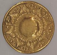 8633006 Messing Schale Teller Jugendstil Arts & Crafts England um 1890