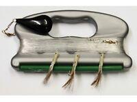 Dennet 5 Pack Sea Fishing Handline 3 Hook Hokkais - 12 gram 75m Heavy Mono Line