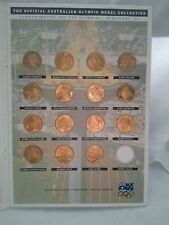 Very Rare Booklet of The Official Australian Olympic Medal Collection 1992