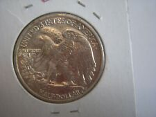 1938-D Walking Liberty Half Dollar 50C Coin  AU