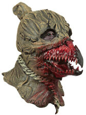 KING OF CROWS SCARECROW SCARY  LATEX HEAD & CHEST MASK HALLOWEEN HORROR