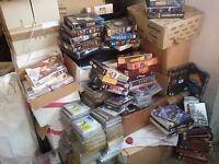 Vendo LOTTO videogiochi 100 pz programmi PC, DVD + altro NUOVI NON USATI