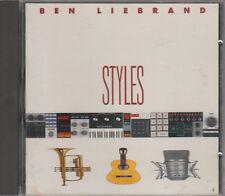 Ben Liebrand CD STYLES (c) 1990