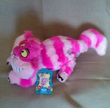 "DISNEYSTORE GENUINE ALICE IN WONDERLAND PLUSH CHESHIRE CAT 20"" BNWT"