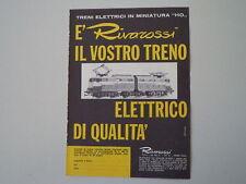 advertising Pubblicità 1964 TRENI RIVAROSSI HO