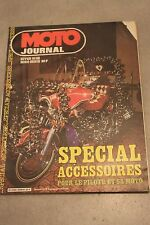 MOTO JOURNAL HORS SERIE SPECIAL ACCESSOIRES HIVER 81 82 1981 1982