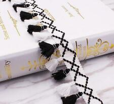 DIY 5 Yards Tassel Lace Trim Handmade Sewing Curtains/Clothes/bag Accessories