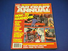 1984 Car Craft Annual Magazine Homebuilt Supercars Special Petersen's How To