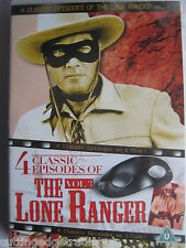 The Lone Ranger Vol 3 (DVD, 1949) Four Classic Episodes NEW SEALED Region 2 PAL
