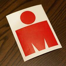 M-Dot Ironman 140.6 vinyl sticker Red