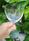 "Kosta Boda Chateau Clear 8"" Water Goblet Swedish Blown Optic Glass Crystal - One"