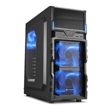 Sharkoon VG5-W blue, Gehäuse (schwarz/blau)