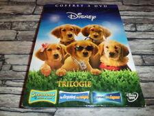 LES COPAINS DES NEIGES + DANS L'ESPACE + 5 TOUTOUS.../ COFFRET DISNEY 3 DVD RARE