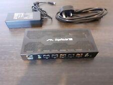 More details for ubiquiti edge gigabit router erpoe-5 opened unused, not in original box.