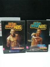 BeachBody Hip Hop Abs DVD 3 Disc Set Hips,Buns,& Thighs / LAST MINUTE WORKOUT