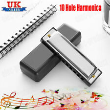 More details for new silver swan harmonica 10 hole key of c for blues rock jazz folk harmonica uk