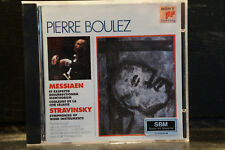 Messiaen/Stravinsky/Pierre Boulez