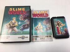 Sega Mega Drive Slime World JAPAN JP GAME Boxed z1591