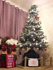 Christmas Tree Rope Guard/barrier/fence/Dog/Pet/decoration/xmas/Handmade OPTION3