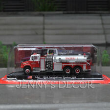 1:64 Diecast Model Toys 1999 Freightliner Tanker USA Fire Engine Truck Replica