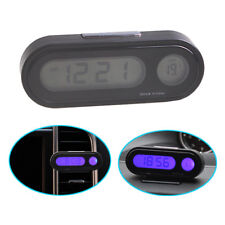 Q94 2in1 Auto digital Uhr Temperatur Thermometer LCD Display Klimaanlage Lüftung