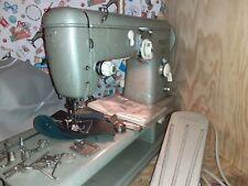 80W Sattler Nähmaschine PFAFF 332 4mm Zick Zack NEUE Kondesatoren Planen Leder