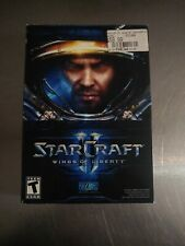 Starcraft Star Craft  II 2 Wings of Liberty PC MAC COMPLETE BOX never opened