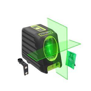 Self-leveling Laser Level - Huepar Box-1G 150ft/45m Outdoor Green Cross Line ...