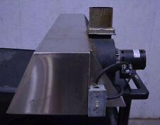 """Nu-Vu Ho-1 38"""" Prefabricated Steam Deflector Exhaust Hood 120V Restaurant Oven"""