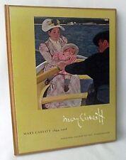 Mary Cassatt National Gallery Art Washington Exhibition 1970 Artist HB History