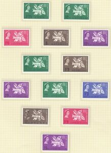 1963 Freedom From Hunger  Crown Colonies Omnibus set 40 values MNH
