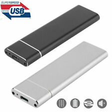 USB 3.1 Type C to NVMe M2 M KEY SSD External Enclosure Case Mobile Hard Disk Box